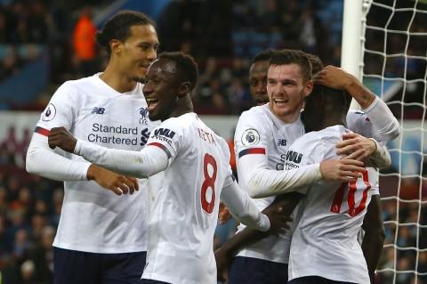 Liverpool Menang Dramatis atas Aston Villa