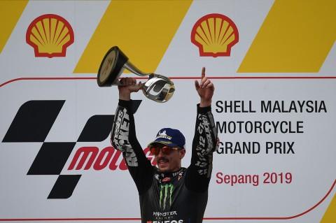 Maverick Vinales Juara MotoGP Malaysia