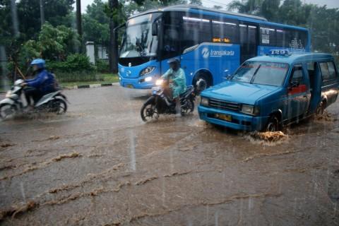 Awal Pekan Jakarta Diramal Hujan