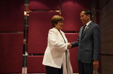 Bertemu Jokowi, IMF Sebut ASEAN 'Titik Terang' Ekonomi Global