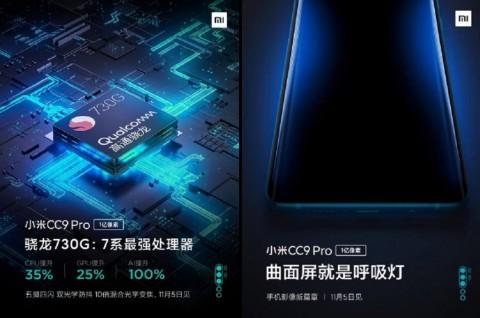 Xiaomi Mi CC9 Pro Berbekal Snapdragon 730G?