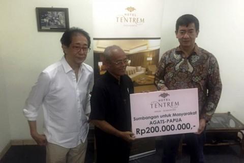 Donasi Rp200 Juta Disalurkan Bantu Warga Agats Papua