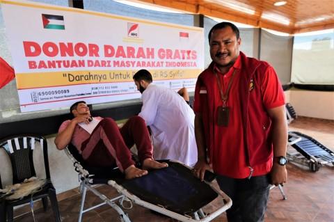 Yayasan NPC Gelar Donor Darah Gratis di Gaza