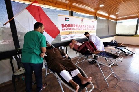 Aktivis Indonesia Koordinasikan Donor Darah di Gaza