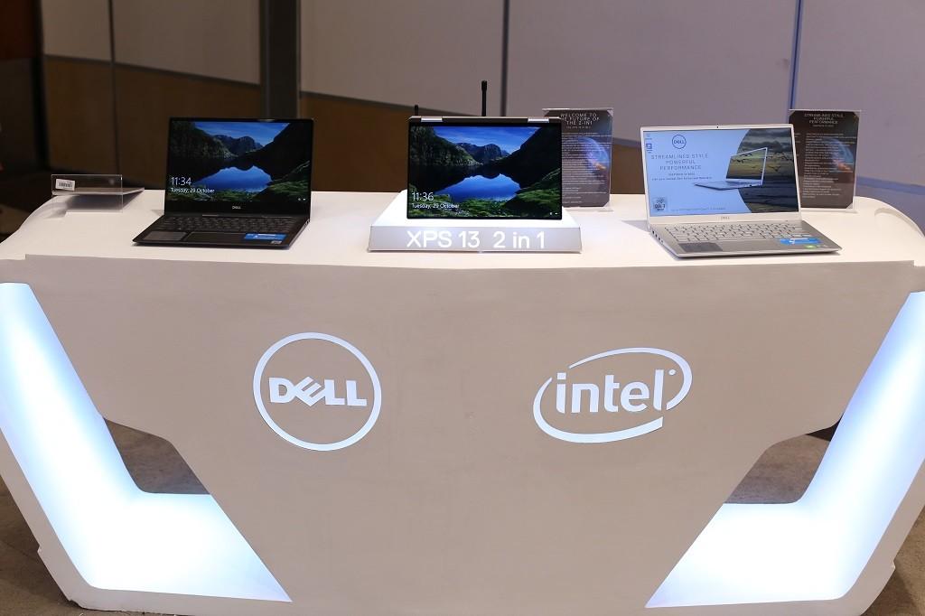 Laptop Dell XPS dan Inspiron teranyar.