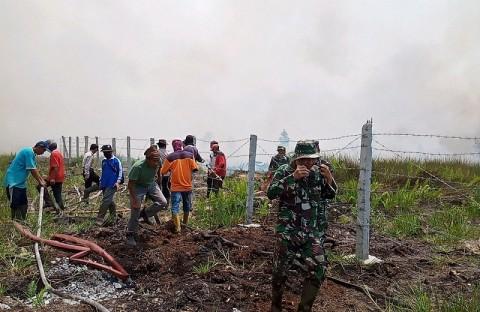 Total 255.904 Hektare Lahan Terbakar di Sumsel