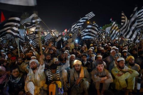 Pedemo Pakistan Ancam Lumpuhkan Negara