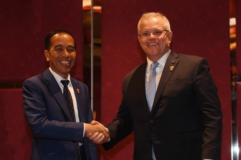 Jokowi Bertemu PM Australia di KTT ASEAN