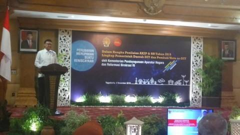 Menteri Tjahjo Sarankan Contoh Tata Kelola Yogyakarta