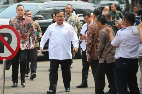 Prabowo Diminta Ajak Pendukung Ikrar NKRI
