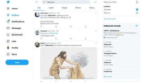 Jaringan Bermasalah, Telkomsel Jadi Trending Topic Twitter