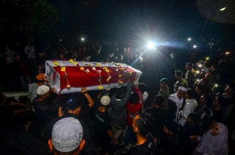 Afridza Munandar Dimakamkan di Kota Tasikmalaya