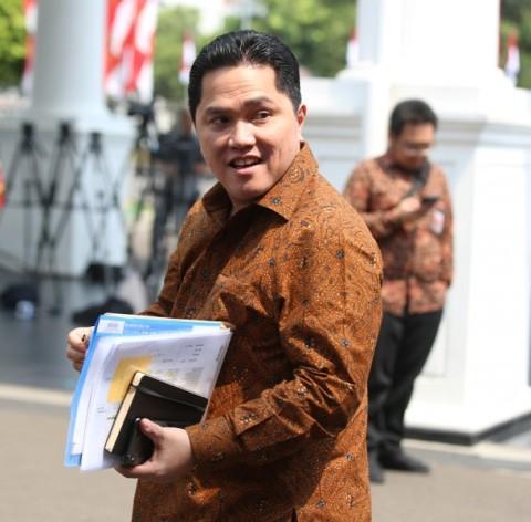 Erick Thohir Belum Ajukan Calon Dirut Inalum ke Jokowi