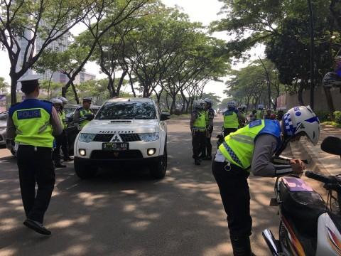 2.200 Pelanggar Terjaring Operasi Zebra di Tangsel