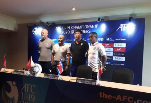 Timnas U-19 Antusias Hadapi Laga Perdana Piala AFC