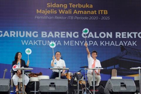 Tiga Calon Rektor ITB Sepakat Bawa ITB Mendunia