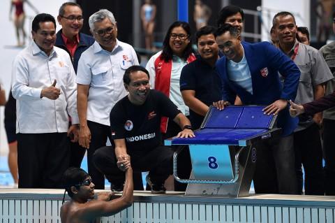 Menpora Harap Tim Renang Indonesia Bawa 4 Emas di SEA Games