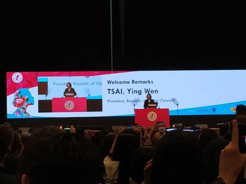 Presiden Taiwan dan Aktivis Perempuan Dunia Bahas Kekerasan pada Perempuan