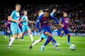 Barcelona Dibuat Frustrasi Slavia Praha