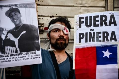 Presiden Chile Sebastian Pinera Menolak Mundur