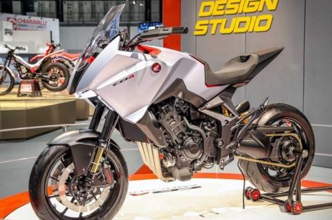 Honda CB4 X Concept Mejeng di EICMA 2019