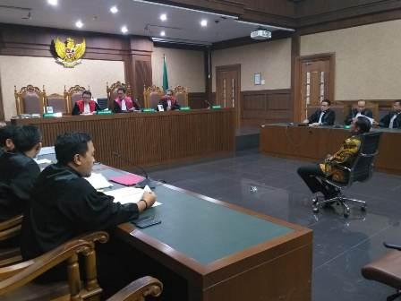 Jaksa KPK Minta Hak Politik Bowo Sidik Dicabut