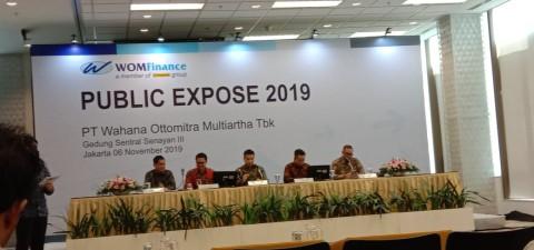 Kuartal III-2019, WOM Finance Catat Laba Bersih Rp156 Miliar