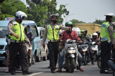 117 Ribu Pengendara Ditilang Selama Operasi Zebra