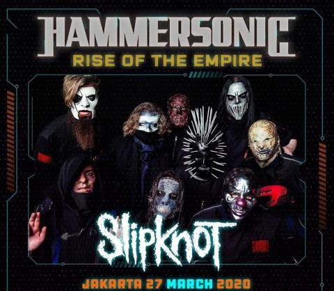 Hammersonic 2020 Bawa Slipknot ke Jakarta