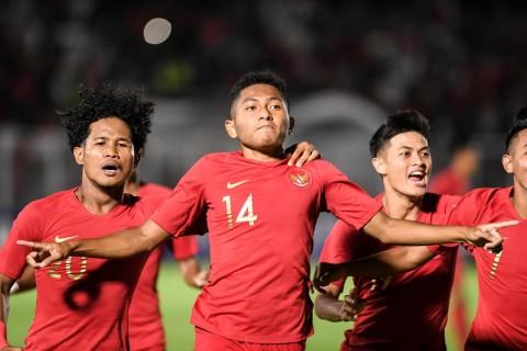 Sementara, Timnas U-19 Mengungguli Timor Leste