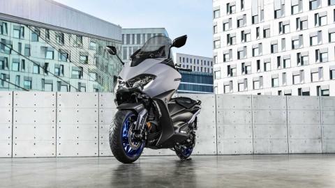 All New Yamaha TMax Usung Mesin Baru