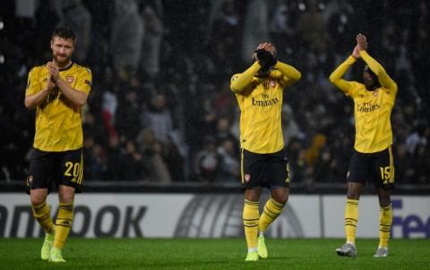 Arsenal Susah Payah Raih Poin di Markas Vitoria