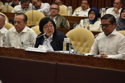 Menteri LHK Jelaskan Program Prioritas kepada DPR