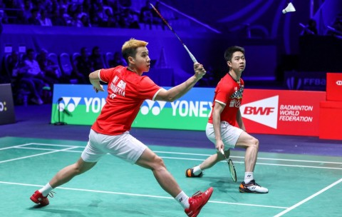 Marcus/Kevin Susah Payah Lolos ke Perempat Final