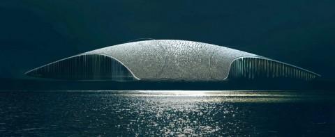 The Whale, Bangunan untuk Menonton Paus Bermigrasi