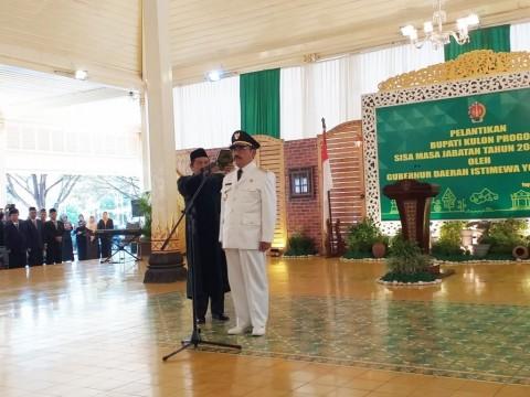 Sutedjo Gantikan Hasto Wardoyo sebagai Bupati Kulon Progo
