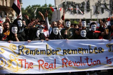 Kedubes AS di Irak Kecam Kekerasan Terhadap Pedemo