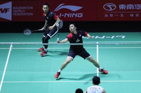 China Open 2019: Fajar/Rian Gagal Hadapi Ahsan/Hendra di Perempat Final