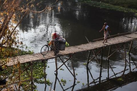 Pemprov Jateng Selidiki Dugaan Pencemaran Sungai Bengawan Solo