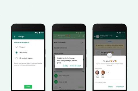 Pengaturan Privasi Baru untuk Grup WhatsApp