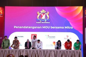 Telkomsel Collaborates with Kadin for Development of Digital Solutions
