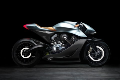AMB001, Proyek Perdana Sepeda Motor Aston Martin