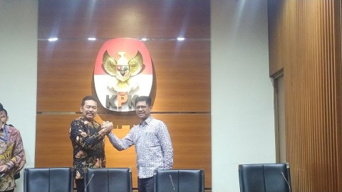 Jaksa Agung Silaturahmi ke KPK