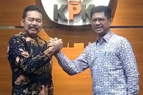 Jaksa Agung Temui Pimpinan KPK