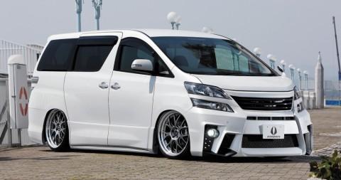 Begini Jadinya kalau Toyota Alphard Main Body Kit