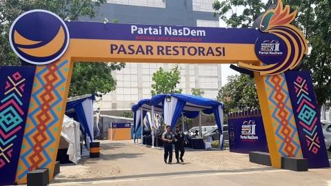 Bazar Seni  Meriahkan Kongres II NasDem