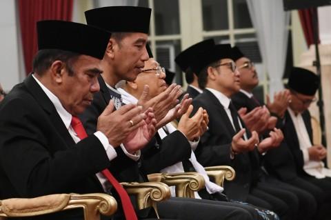 Jokowi-Ma'ruf Peringati Maulid Nabi Muhammad di Istana