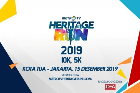 Antusiasme Karyawan Media Group Ikuti Heritage Run