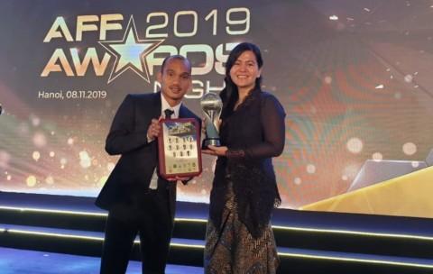 PSSI Jadi Asosiasi Terbaik, Riko Simanjuntak Masuk Tim 11 Pemain Terbaik AFF