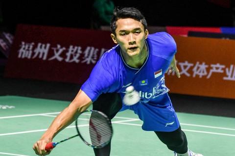 Jonatan Christie Terhenti di Perempat Final China Open